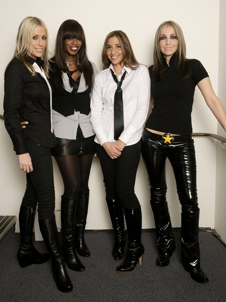 All Saints dressed in black