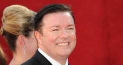 Ricky Gervais at Emmys
