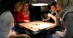 people playing a game
