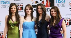 All Angels at the Classical Brits 2008