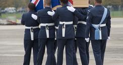 reaptriation at RAF Lyneham