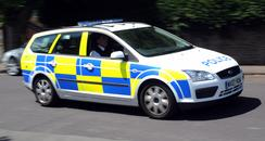 Avon and Somerset Police car