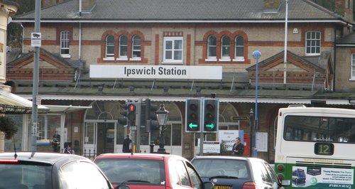Ipswich train station