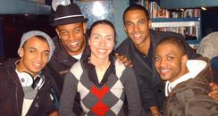 JLS speak to Sonia Clark