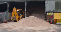 Gloucestershire's stash for gritting the roads