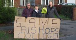 Campaigners fighting closure plans
