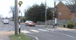 Wantage Road zebra crossing, Didcot