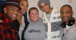 Mic with JLS