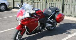 VFR1200F - gorgeous in an angular way!