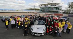 Starlight children with Ferrari