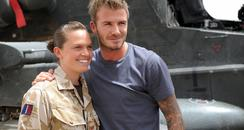 David Beckham in Afghanistan