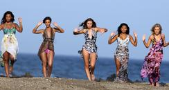 The Saturdays filming new video