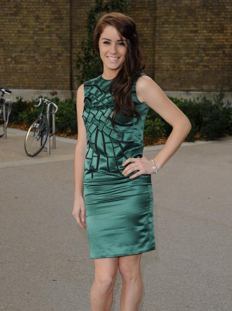 Lucie Jones At London Fashion Week Celebrities On The