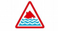 Sever flood warning