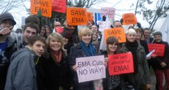 Cambridge EMA Protest