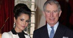 Prince Charles and Cheryl.