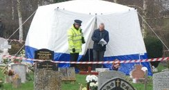 Police exhume baby's body at bybrook cemetary