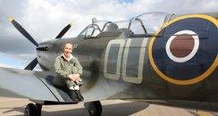 Spitfire Pilot Caroline Grace