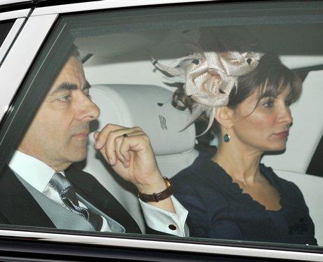 Rowan Atkinson And Sunetra Sastry The Showbiz Royalty