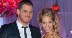 Michael Buble and Lusiana Lopilato