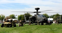 Apaches At Suffolk Show 2