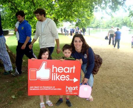 Heart Thames Valley 'Likes' Oxfordshire...