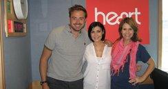 Kym Marsh with Jamie And Harriet
