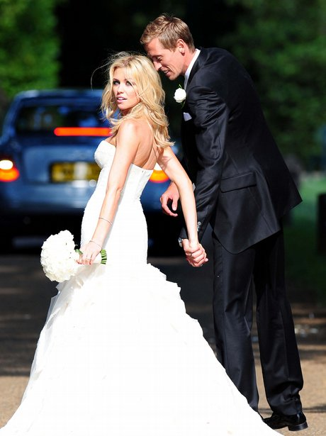 peter crouch and abbey clancys wedding heart