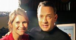 Tom Hanks with Heart's Harriet Scott