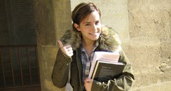 Emma Watson at Oxford University
