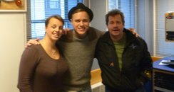 Olly Murs with Martin and Su