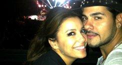 Eva Longoria and Eduardo Cruz