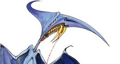 The 'Torydactyl' drawn by Gerald Scarfe