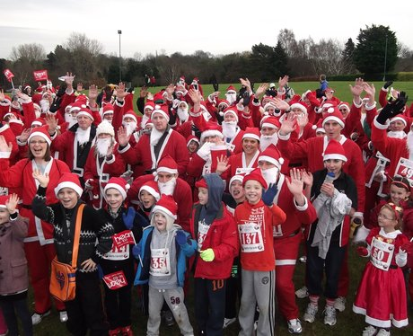Harlow santa fun run