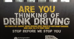 Drink Drive Campaign Northamptonshire