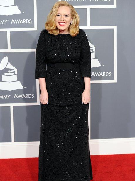 Adele at Grammy Awards 2012
