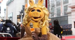 Miss Piggy hosts the Bafts 2012 Red Carpet