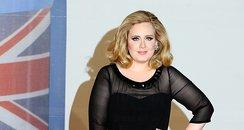 Adelle arrives at the BRIT Awards 2012