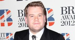James Corden at the BRIT Awards 2012