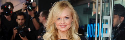 Emma Bunton on the red carpet