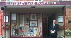 Bletchley Park Stamp