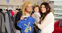 Emma Bunton meets auction winner Zara