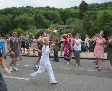 The Olympic Torch Relay Day 12: Shrewsbury to Staf