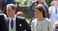 The Duke and Duchess of Cambridge Kate and William