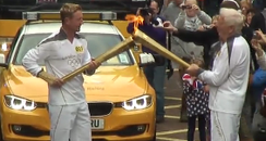 Paul Collingwood Olympic Torch