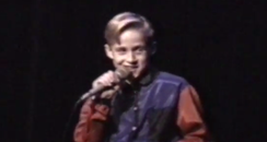 Ryan Gosling at ten years old