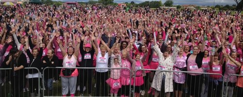 Race for Life Luton 2012 - View from the stage