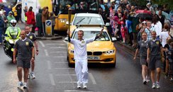 Letchworth Olympic Torch