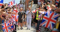 Olympic Torch in Basingstoke