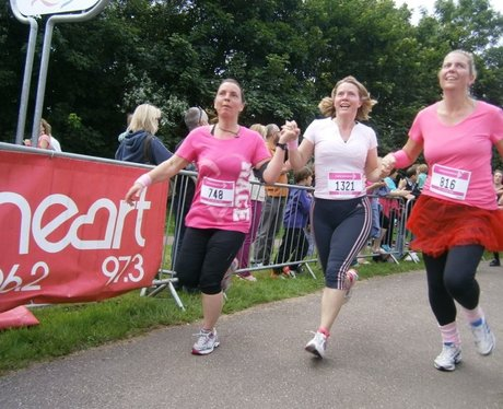 Race for Life Barnstaple Finish